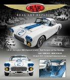 1960 Chevrolet Corvette  24 Hours of Le Mans 1960 #2 Thompson/Windridge in 1:18 scale by RAR