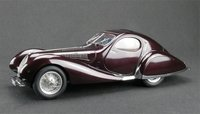 1938 Talbot Lago Coupe Type 150 SS in Plum by CMC in 1:18 Scale PRESS SAMPLE