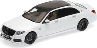 2016 Maybach Brabus 900 AUF Basis Mercedes-Benz Maybach S 600 in White Resin Model in 1:43 Scale by Minichamps