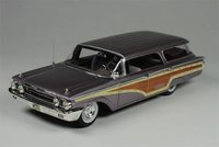 1960 Mercury Colony Park in Royal Lilac in 1:43 scale by Goldvarg