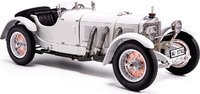 1930 Mercedes-Benz SSK in white  in 1:18 Scale by CMC