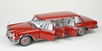 Mercedes-Benz 600 Pullman Limousine Red Barron in 1:18 Scale by CMC