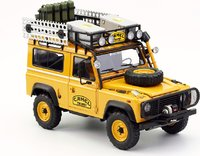 Land Rover Defender 90 Camel Trophy Edition Borneo in 1:18 Scale by Almost Real