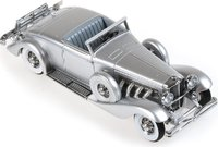 1936 Duesenberg SJN Supercharged Convertible Coupe Resin Model in 1:43 Scale by Minichamps