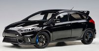 Ford Focus RS 2016, Shadow Black in 1:18 Scale by AUTOart