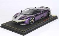 Ferrari SF90 Stradale Pack Fiorano LTD ED 32 PCS w/ Case in 1:18 scale by BBR
