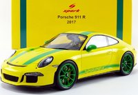 2017 Porsche 911 R Model Car in 1:18 Scale by Spark