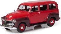 1949-53 Chevrolet Suburban in Maroon and Brown in 1:43 Scale by Esval Models