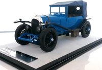 Bentley 3L Gloss Blue with roof in 1:18 scale by Tecnomodel