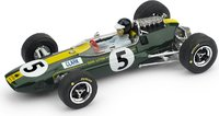F1 LOTUS 33 1965  Eng. G.P. J.CLARK #5 with figure in 1:43 scale by Brumm