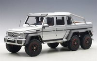 Mercedes-Benz G63 AMG 6x6 in Silver 1:18 Scale by AUTOart