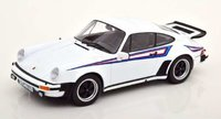 1976 Porsche 911 (930) 3.0 Turbo with Martini Livery white in 1:18 scale by KK Diecast
