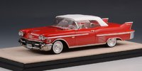 1958 Cadillac Series 62 Convertible Closed Top in 1:43 scale by Stamp Models