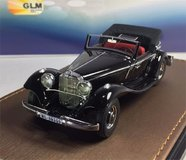 1936 Mercedes-Benz 290A Cabriolet 1936 Resin Model Car in 1:43 Scale by GLM