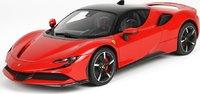 Ferrari SF90 Stradale in Red Corsa 322 in 1:18 Scale by BBR