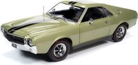 1968 AMC AMX Hardtop MCACN in 1:18 Scale by Auto World