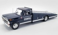 1970 Ford F-350 Ramp Truck COBRA  Diecast Model by Acme in 1:18 Scale