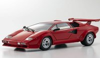 Lamborghini Countach LP5000S Red in 1:18 Scale by Kyosho