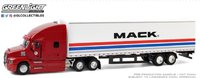 2018 Mack Anthem 18 Wheeler Tractor-Trailer in 1:64 scale by greenlight