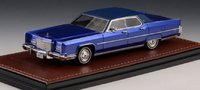 1973 Lincoln Continental Town Car Dark Blue Irid in 1:43 scale by GLM