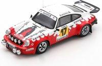 Porsche 911 Carrera No.17 Rally Monte Carlo 1977 Francis Bondil Denise Emmanuelli in 1:43 scale by Spark