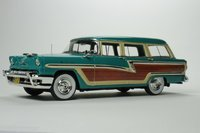 1956 Mercury Monterey Heath Green in 1:43 Scale by Goldvarg Collection