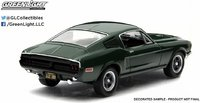 1968 Ford Mustang GT Fastback Steve McQueen Bullitt in 1:43 Scale by Greenlight