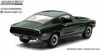 1968 Ford Mustang GT Fastback Steve McQueen Bullitt in 1:43 Scale by Greenlight
