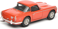 Triumph TR5 Red Resin Model in 1:43 Scale by Schuco