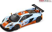 2013 McLaren 12C GT3 #69 Gulf Racing 24 Hours of Spa Model Car in 1:43 Scale by Truescale Miniatures
