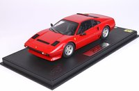 Ferrari 208 GTB Turbo Red in 1:18 scale by BBR
