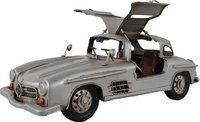 Mercedes Benz 300L Gullwing Silver Model in 1:8 Scale by Old Modern Handicrafts