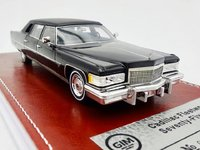 1976 Cadillac Fleetwood Brougham Black in 1:43 Scale by GIM