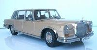 1963 Mercedes Benz 600 SWB W100 in 1:18 scale by KK Diecast