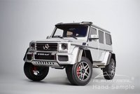 Mercedes-Benz G500 4x4² in Silver Diecast Model in 1:18 by Almost Real