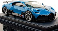 Bugatti Divo by MR Collection in French Racing Blue Fine Model in 1:18 Scale