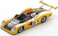 Alpine Renault A442 No.19  Le Mans 1976 in 1:43 Scale by Spark