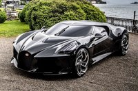 Bugatti La Voiture Noire Black by MR Collection in 1:18 Scale