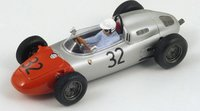 1962 Porsche 718, No.32 German GP, Heini Walter Model Car in 1:43 Scale by Spark