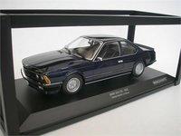 1982 BMW 635 CSI Blue Metallic in 1:18 Scale by Minichamps