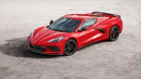 Chevrolet Corvette C8 Stingray Z51 Torch Red in 1:18 Scale by AUTOart