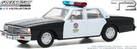 1987 Chevrolet caprice Metropolitan Police Car (Terminator 2-Judgement day 1991) in 1:43 scale by Greenlight