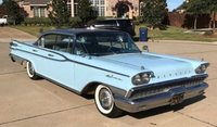 1959 Mercury Park Lane Hard Top Blue Ice in 1:18 Scale by Sun Star