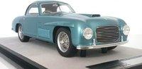 Ferrari 166 S Coupe' Allemano 1948  Street Azzurro California in 1:18 scale by Technomodel