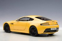2015 Aston Martin V12 Vantage S in Yellow Tang Diecast Model Car in 1:18 Scale by AUTOart