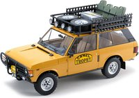 """RANGE ROVER """"CAMEL TROPHY"""" PAPUA NEW GUINEA in 1:18 scale by Almost Real"""