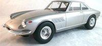 1966 Ferrari 330 GTC in Silver 1:18 scale by CMR