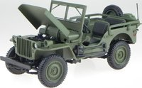1942 JEEP WILLYS Diecast Model in 1:18 Scale by Norev