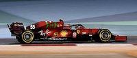 Ferrari SF21 British GP 2021 #55 Carlos Sainz Jr in 1:43 scale by Looksmart