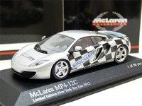 McLaren MP4 12C 2012 Rare LE  96 Pieces NY Toy Fair Diecast Model Car in 1:43 Scale by Minichamps